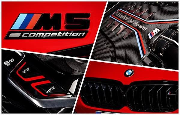2021 BMW M5 Collage